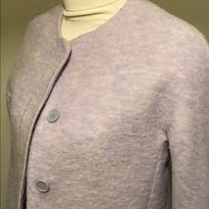 BOGO 50% off! periwinkle 5 button Zara coat